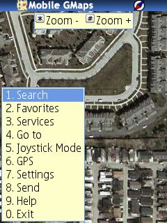 Mobile GMaps 1.39.03 [Java] - Symbian OS 9.1